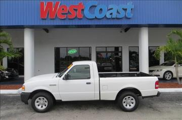 2010 Ford Ranger for sale at West Coast Car & Truck Sales Inc. in Saint Petersburg FL