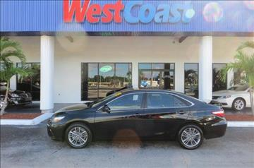 2015 Toyota Camry for sale at West Coast Car & Truck Sales Inc. in Saint Petersburg FL