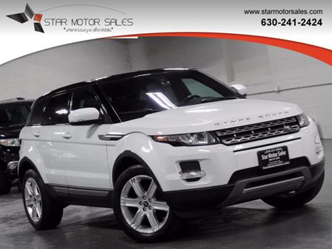 2013 Land Rover Range Rover Evoque for sale in Downers Grove, IL