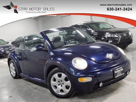 2003 volkswagen beetle for sale in illinois. Black Bedroom Furniture Sets. Home Design Ideas