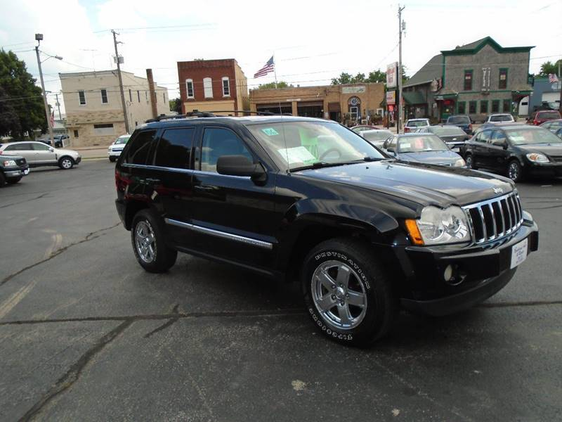 2006 Jeep Grand Cherokee Limited 4dr SUV 4WD w/ Front Side Airbags - Dale WI