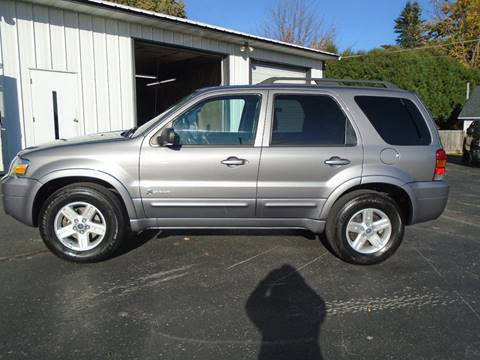 2007 Ford Escape Hybrid for sale in Dale, WI