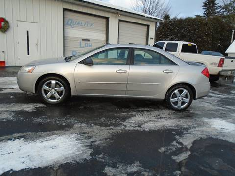 2008 Pontiac G6 for sale at NORTHLAND AUTO SALES in Dale WI