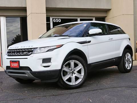 2013 Land Rover Range Rover Evoque Coupe for sale in Schaumburg, IL