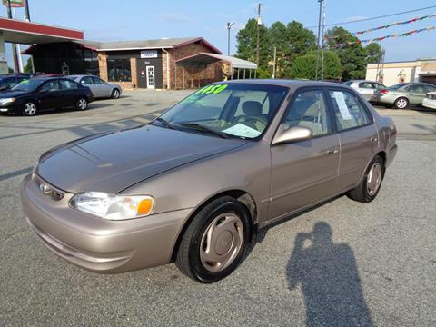 1998 Toyota Corolla for sale at KARS R US of Spartanburg LLC in Spartanburg SC