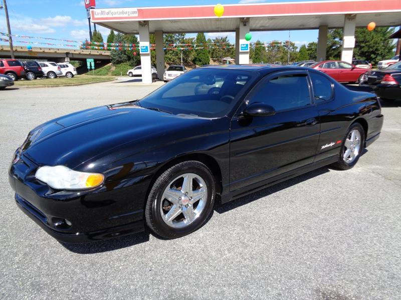 2004 Chevrolet Monte Carlo for sale at KARS R US of Spartanburg LLC in Spartanburg SC