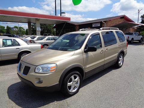 2006 Pontiac Montana SV6 for sale in Spartanburg, SC