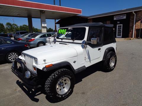 1990 Jeep Wrangler for sale in Spartanburg, SC