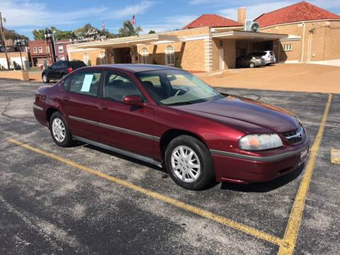 2002 Chevrolet Impala for sale in Saint Louis, MO