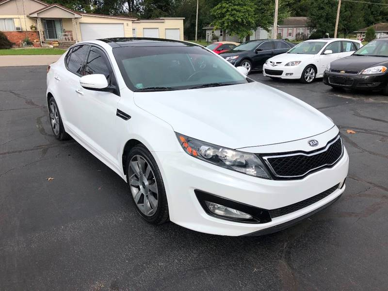2012 Kia Optima SX Turbo 4dr Sedan 6A   Linton IN