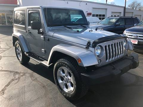 2014 Jeep Wrangler for sale in Linton, IN
