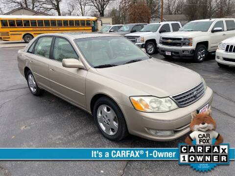 2004 Toyota Avalon for sale at Bob Walters Linton Motors in Linton IN