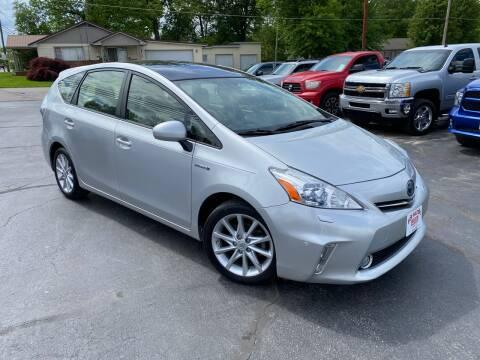 2013 Toyota Prius v for sale at Bob Walters Linton Motors in Linton IN