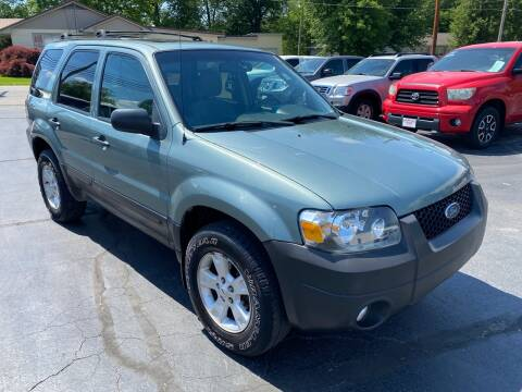 2007 Ford Escape XLT for sale at Bob Walters Linton Motors in Linton IN
