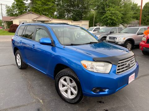 2008 Toyota Highlander for sale at Bob Walters Linton Motors in Linton IN