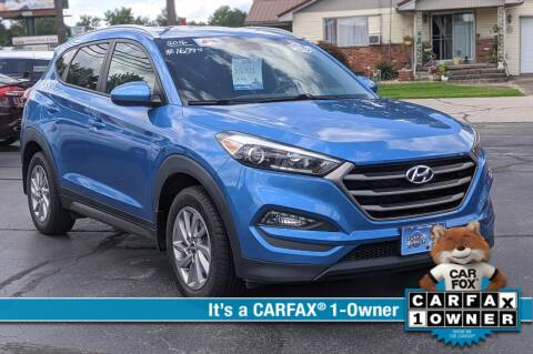 2016 Hyundai Tucson for sale at Bob Walters Linton Motors in Linton IN