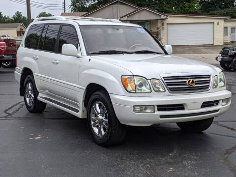 2003 Lexus LX 470 for sale at Bob Walters Linton Motors in Linton IN