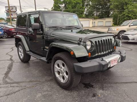 2011 Jeep Wrangler for sale at Bob Walters Linton Motors in Linton IN
