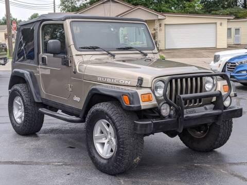 2003 Jeep Wrangler for sale at Bob Walters Linton Motors in Linton IN
