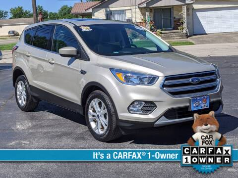 2017 Ford Escape for sale at Bob Walters Linton Motors in Linton IN