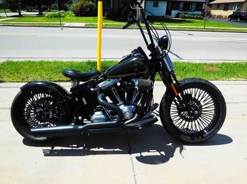 2008 Harley-Davidson Cross-Bone Springer