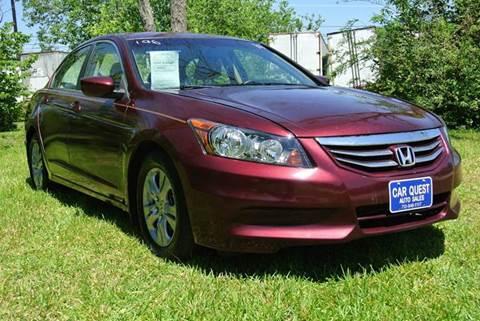 2011 Honda Accord for sale in Houston, TX