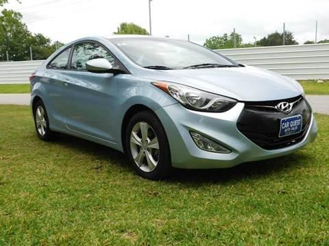 2013 Hyundai Elantra Coupe for sale in Houston, TX