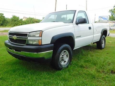 2006 Chevrolet Silverado 2500hd For Sale In Texas