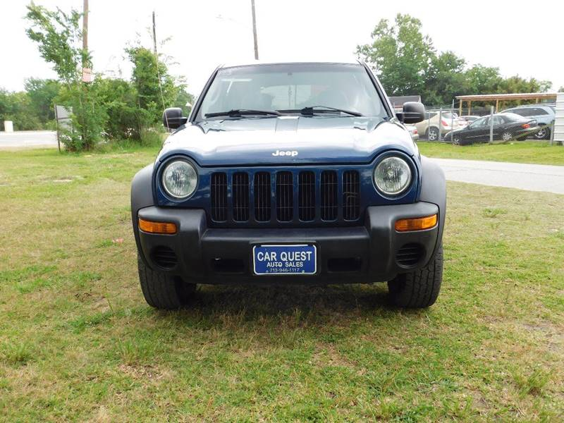 2002 Jeep Liberty For Sale At CAR QUEST AUTO SALES In Houston TX