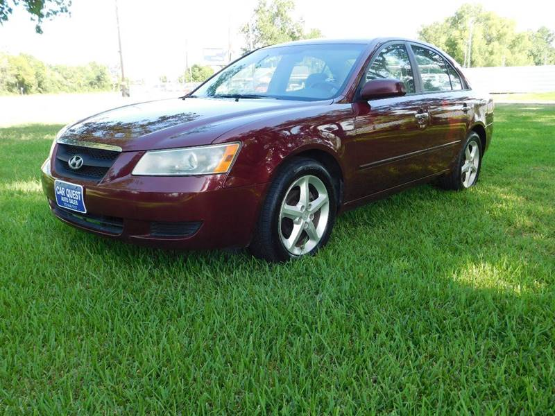 Lovely 2008 Hyundai Sonata For Sale At CAR QUEST AUTO SALES In Houston TX