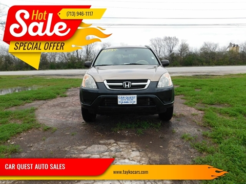 2004 Honda CR-V LX for sale at CAR QUEST AUTO SALES in Houston TX