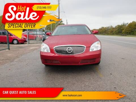 2011 Buick Lucerne CXL for sale at CAR QUEST AUTO SALES in Houston TX
