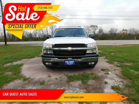 2006 Chevrolet Avalanche LS 1500 for sale at CAR QUEST AUTO SALES in Houston TX
