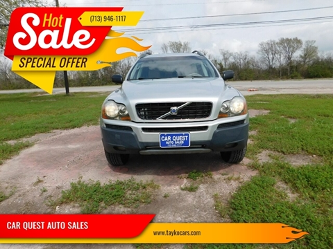 2006 Volvo XC90 for sale at CAR QUEST AUTO SALES in Houston TX