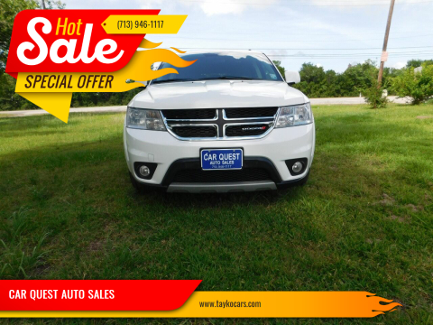 2017 Dodge Journey for sale at CAR QUEST AUTO SALES in Houston TX