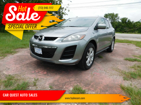 2010 Mazda CX-7 for sale at CAR QUEST AUTO SALES in Houston TX