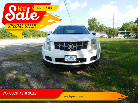 2011 Cadillac SRX for sale at CAR QUEST AUTO SALES in Houston TX