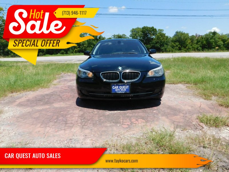 2010 BMW 5 Series for sale at CAR QUEST AUTO SALES in Houston TX