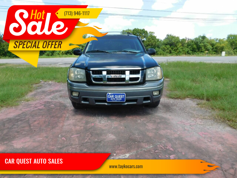 2004 Isuzu Ascender for sale at CAR QUEST AUTO SALES in Houston TX
