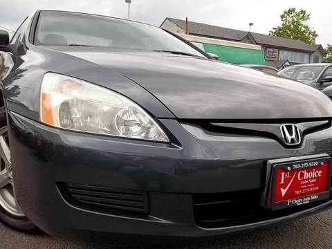 2003 Honda Accord for sale in Fairfax, VA