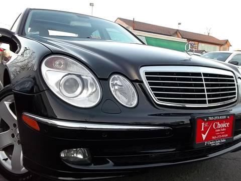 2006 mercedes benz e class for sale in virginia for Mercedes benz northern va