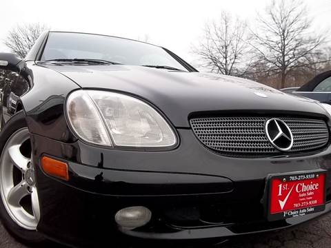 2001 Mercedes-Benz SLK for sale in Fairfax, VA