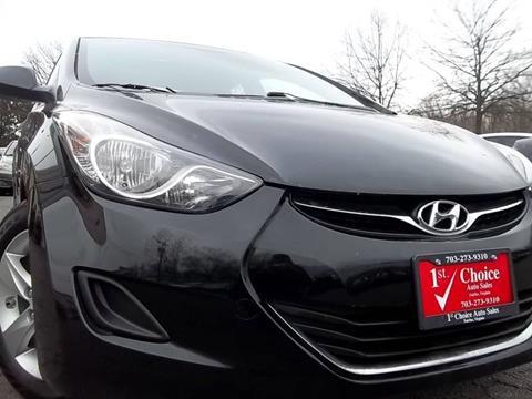 2013 Hyundai Elantra for sale in Fairfax, VA