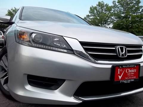 2014 Honda Accord for sale in Fairfax, VA