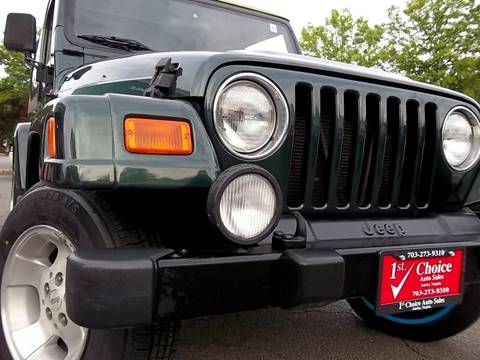2001 Jeep Wrangler for sale in Fairfax, VA