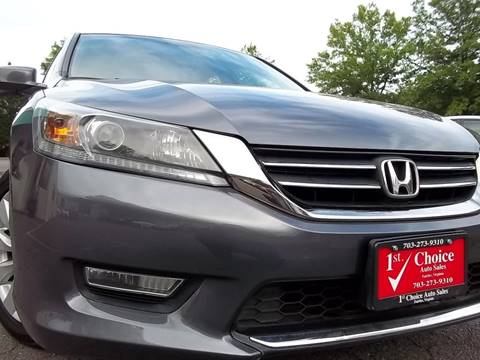 2013 Honda Accord for sale in Fairfax, VA