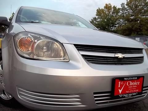 2009 Chevrolet Cobalt for sale in Fairfax, VA