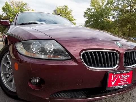 2005 BMW Z4 for sale in Fairfax, VA