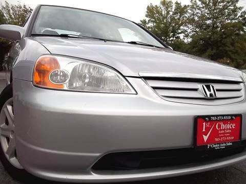 2003 Honda Civic for sale in Fairfax, VA