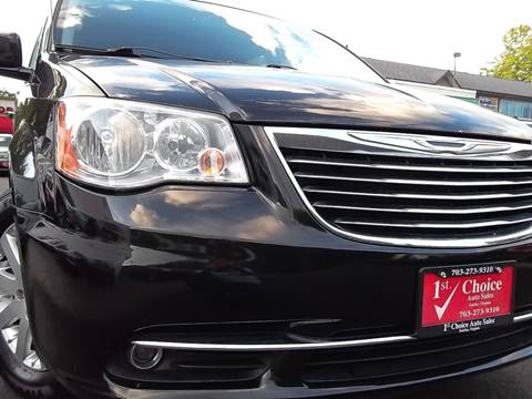 2013 Chrysler Town and Country for sale in Fairfax, VA